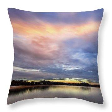 Lake Sidney Lanier Throw Pillow