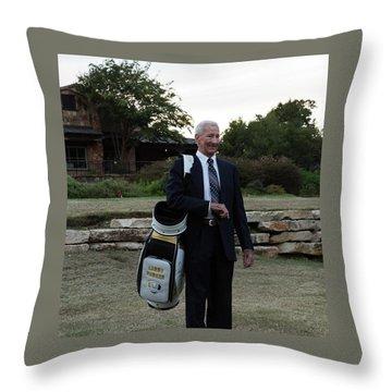 Larry 2 Throw Pillow