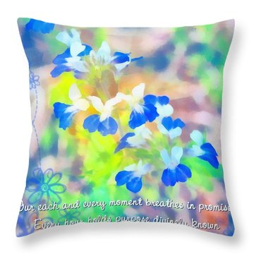 Lets Be Jesus Throw Pillow