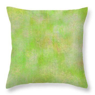 Lime Batik Print Throw Pillow