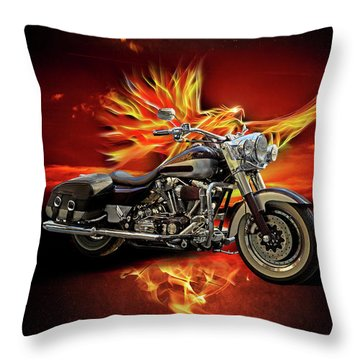 Live To Ride, Ride To Live Throw Pillow