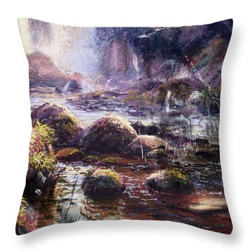 Living Water Throw Pillow