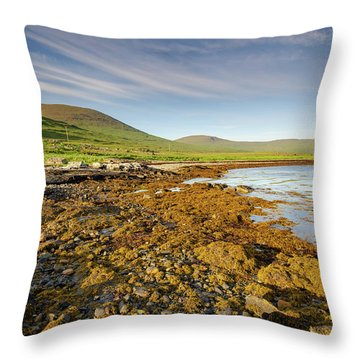 Loch Na Keal Throw Pillow
