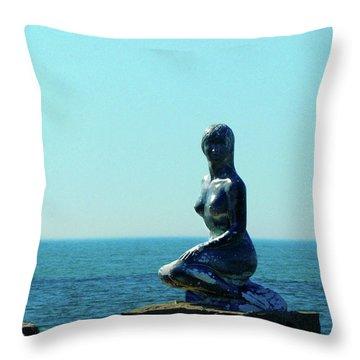Magical Mermaid Throw Pillow