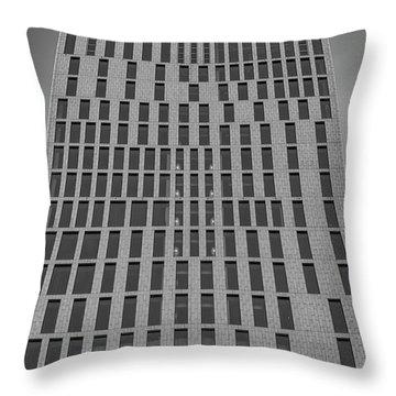 Malmo Live Building Blocks Facade Throw Pillow