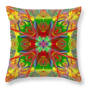 Mandala 12 8 2018 Throw Pillow