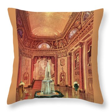 Mastbaum Theatre Throw Pillow