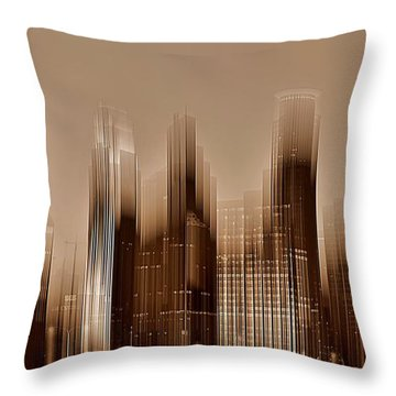Minneapolis 2 Throw Pillow