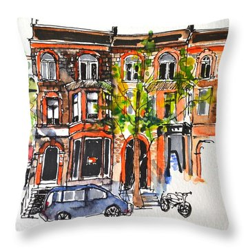 Montreal #1 Throw Pillow