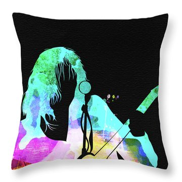 Neil Young Throw Pillows