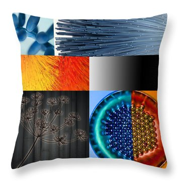 Throw Pillow featuring the photograph Nocturne I by Mark Shoolery