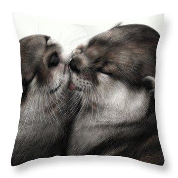 Ocean Loyalty Throw Pillow