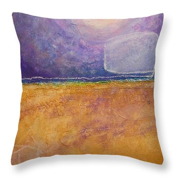 Throw Pillow featuring the painting Old Home Fall by Kim Nelson