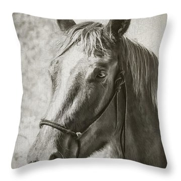 Old West Transportation Throw Pillow