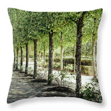 Parisian Stroll I Throw Pillow