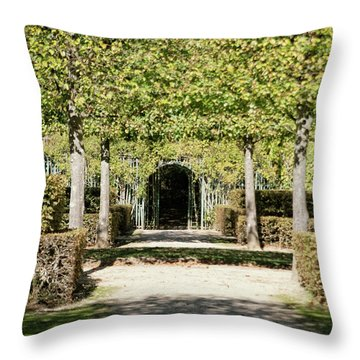 Parisian Stroll II Throw Pillow