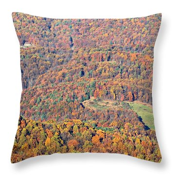 Throw Pillow featuring the photograph Rainbow Valley by Candice Trimble