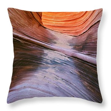 Rock Formations, Vermillion Cliffs Throw Pillow