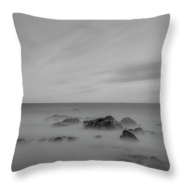 Throw Pillow featuring the photograph Rocky by Bruno Rosa