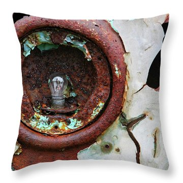 Rusty And Crusty Throw Pillow