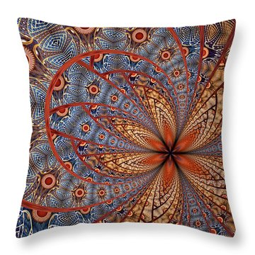 Throw Pillow featuring the digital art Sarah by Missy Gainer