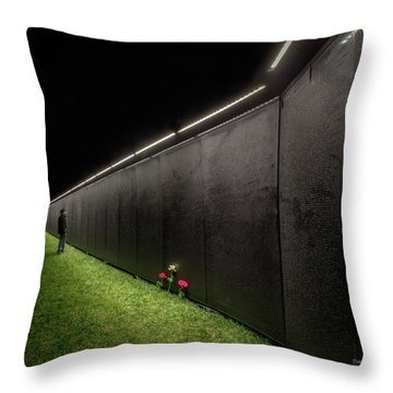 Searching For Steven Throw Pillow