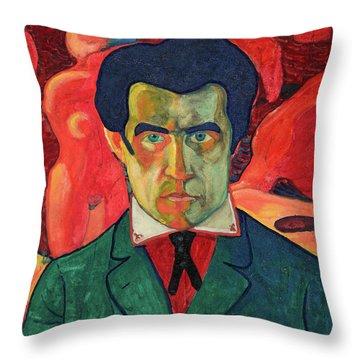Self Portrait, 1910 Throw Pillow