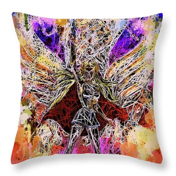 She - Ra Princess Of Power Throw Pillow