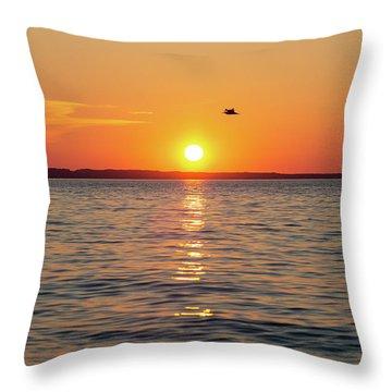 Sleeping Bear Bay 4 Throw Pillow