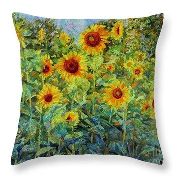 Sunny Sundance Throw Pillow