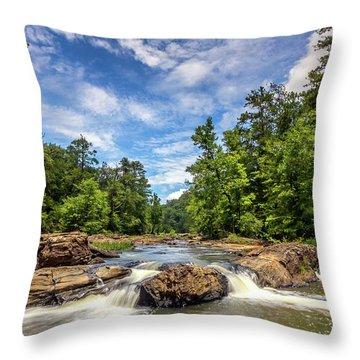 Sweetwater Creek Throw Pillow