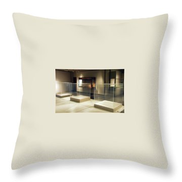 The Art Of Nothing Throw Pillow