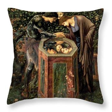The Baleful Head Throw Pillow