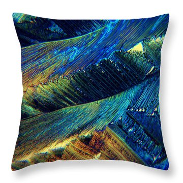 The Collapse Throw Pillow