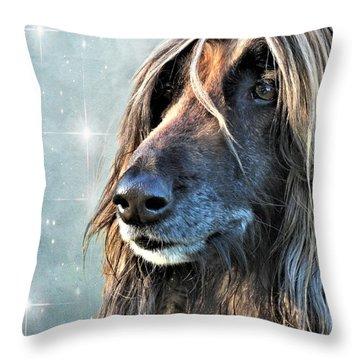 The Diva Throw Pillow