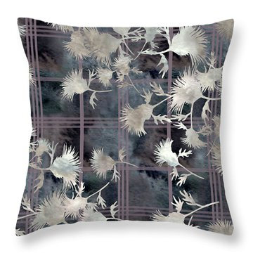 Thistle Plaid  Throw Pillow