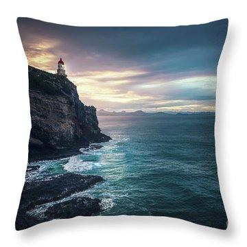 Twilight Symphony Throw Pillow