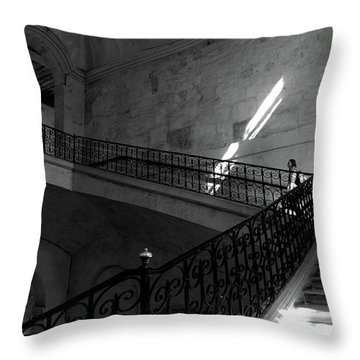 Throw Pillow featuring the photograph Where Does It Lead? by Edward Lee