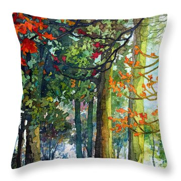 Woodland Trail Throw Pillow