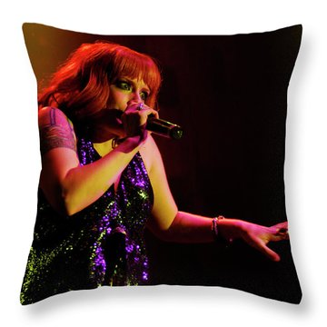 Scissor Sisters Throw Pillow
