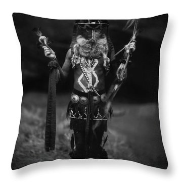 1904 Nayenezgani - Native American Indian Throw Pillow