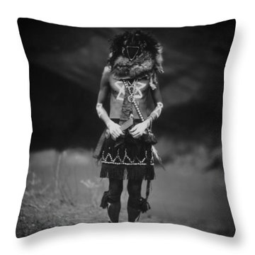 1904 Tobadzischini - Native American Indian Throw Pillow