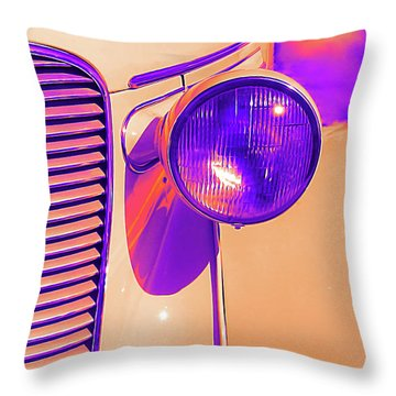 1937 Dodge Glowing Throw Pillow