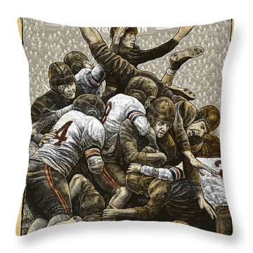 1940 Chicago Bears Throw Pillow