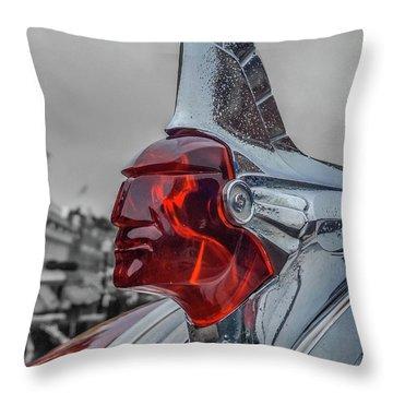1951 Pontiac Throw Pillow