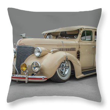1939 Chevrolet Master Deluxe Throw Pillow