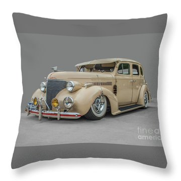 1939 Chevrolet Master Deluxe Throw Pillow