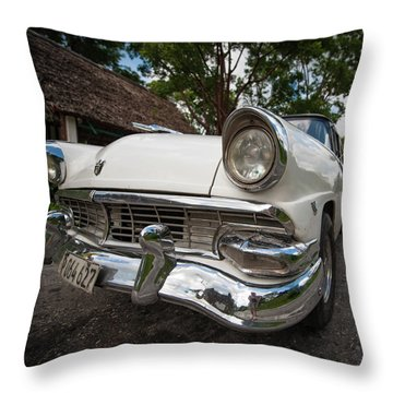 1953 Cuba Classic Throw Pillow