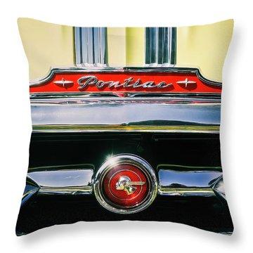 1953 Pontiac Grille Throw Pillow