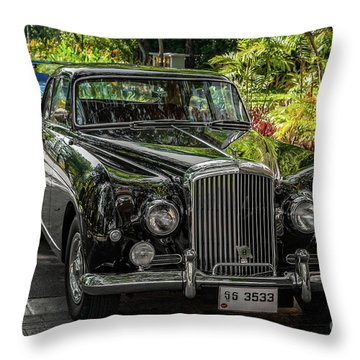 1954 Bentley R-type Continental Fastback Throw Pillow